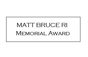 Matt Bruce Memorial Award