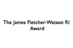 The James Fletcher-Watson RI Award